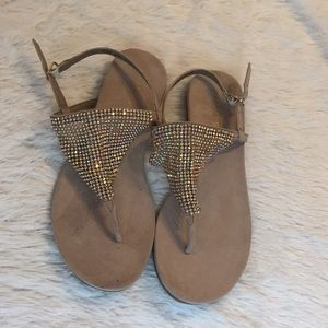 Madden Girl sparkly new sandals